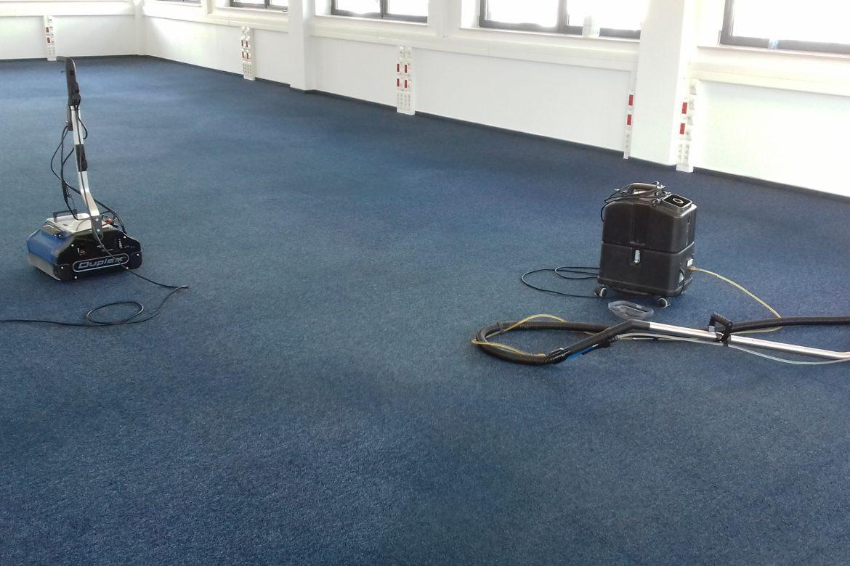 Pranie ekstrakcyjne wykładzin dywanowych – Case Study