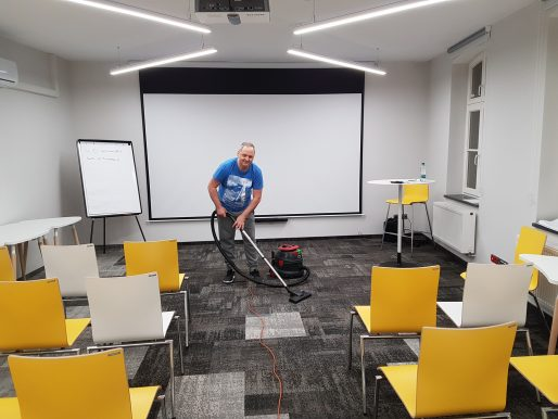 Sprzątanie biur 217 m2 - Case Study